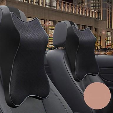 billige Hodestøtter til bilen-bil nakkepute 3d minne skum hodestøtte justerbar auto nakkestøtte pute reise nakkepute støtte holder sete pute