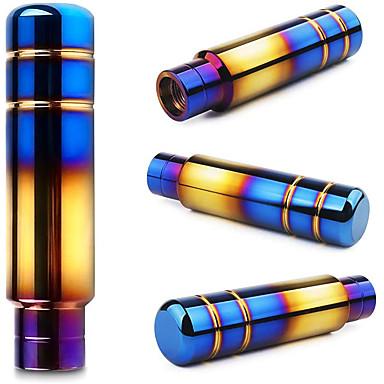 billige Girkuler-brud aluminiumslegering grillstang med lilla bakgrunn 13cmbrent blå universal girskift kniv girhode v2 -13cm