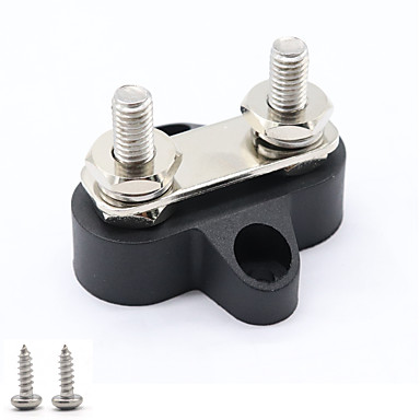 cheap Fuel Systems-Dual Heavy-Duty Terminal Studs with Connecting Link M6