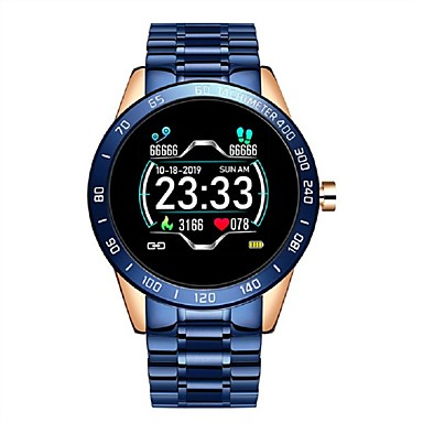 cheap Smartwatches-Stainless Steel Sport Smartwatch Support Heart Rate Measurement/ Notify Compitable with IOS/Android Phones