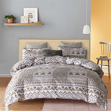 cheap Duvet Covers-Bohemian Style 3-Piece Duvet Cover Set Hotel Bedding Sets Comforter Cover with Soft Lightweight Microfiber(Include 1 Duvet Cover and 1 or 2 Pillowcases)