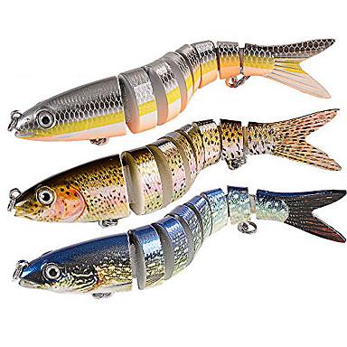 Pink LIOOBO 2Pcs Fishing Lures Metal Fishing Baits Sets Artificial Hard Bait Treble Hooks Spanish Mackerel