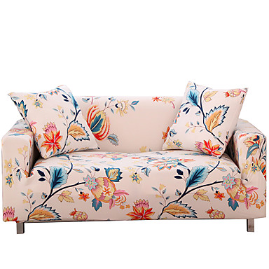 cheap Slipcovers-Sofa Cover Couch Cover Furniture Protector Soft Stretch Sofa Slipcover Spandex Jacquard Fabric Super Strechable Cover Fit for Armchair/Loveseat/Three Seater/Four Seater/L Shape Sofa Easy to Install