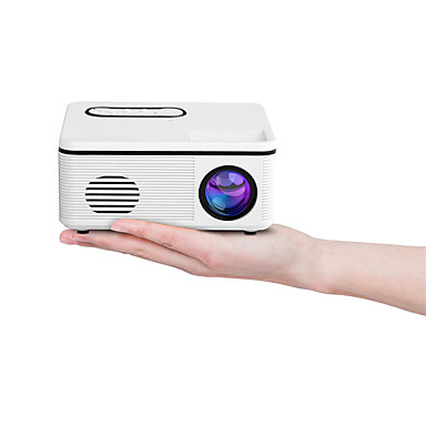 cheap Projectors-H88 Projector LED 3D 480P Support Haut-Parleur TF HDMI USB Mini Media Player