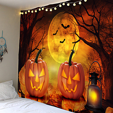cheap Wall Tapestries-Halloween Horror Palm Blood Wall Tapestry Halloween Party Scene Cloth Tapestry Cloth Home Bar Halloween DIY Decoration