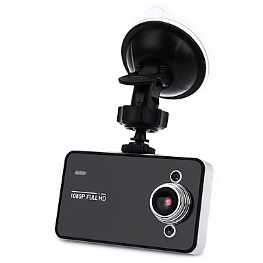 billige Bil-DVR-minikameraopptaker k6000 videokamera 2.3 1080 full kjøretur automatisk fartskriver 90 graders skytevinkel nattsyn