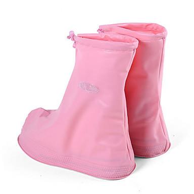رخيصةأون اكسسوارات الأحذية-للجنسين غطاء الحذاء لون سادة ضد البكتيريا PVC EU36-EU46