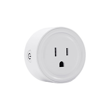 cheap Smart Plug-LITBest Smart Plug American standard wifi smart socket for Living Room / Study / Bedroom APP Control / Smart 100-240 V