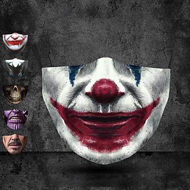 economico Protezione personale-Halloween cross-border pm2.5 maschera digitale stampata in 3d antipolvere maschera protettiva in cotone con filtro sostituibile personalizzazione