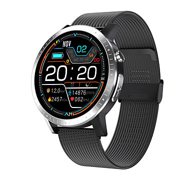 cheap Smartwatches-C06 Smartwatch for Android/Samsung/IOS Phones, Bluetooth Water-resistant Fitness Tracker Support Blood pressure/ECG Measurement