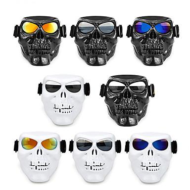 billige Motorsykkelhjelmer-utendørs sykkelbriller beskyttelsesbriller hodeskalle maske sykkelbriller ski vindtett motocross solbriller utendørs brille sykkel
