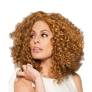 cheap Synthetic Trendy Wigs-Synthetic Wig Curly Asymmetrical Wig Short Light Brown Dark Brown Brown Natural Black Synthetic Hair Women's Fashionable Design Exquisite Fluffy Brown