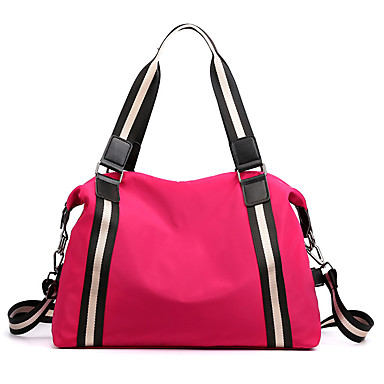 cheap Luggage & Travel Bags-Women's Bags Nylon Crossbody Bag Zipper for Daily / Going out Wine / Black / Purple / Blushing Pink
