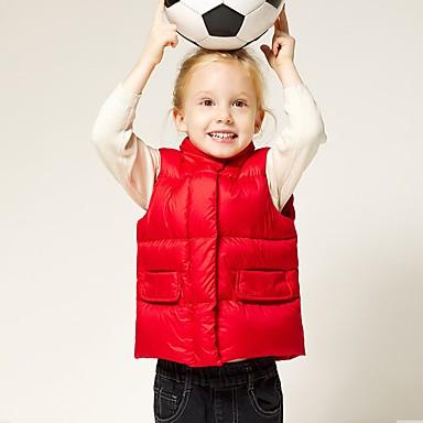 cheap Baby & Kids-Kids Boys' Basic Black Red Solid Colored Short Vest Black