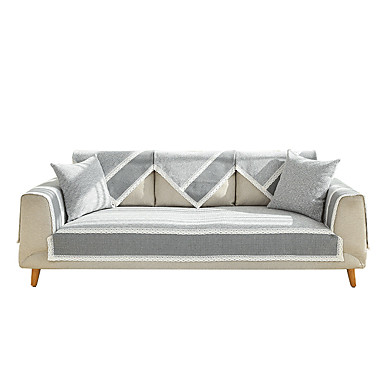 cheap Slipcovers-Slipcovers Sofa Cover Solid Color Modern Style/ Quilted Cotton/ Easy to Install Couch Cover