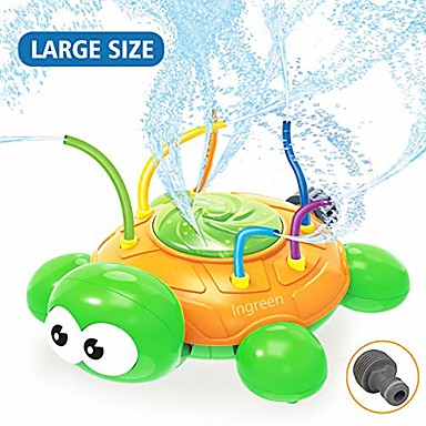 cheap Inflatable Ride-ons & Pool Floats-water spray sprinkler toy for kids - garden sprinkler with hose swing tubes tools, courtyard swirl turtle spinning lawn funny water game outdoor in summer for toddlers children teens