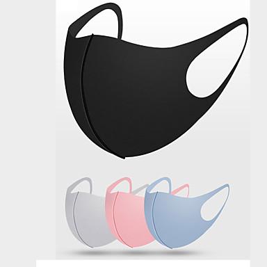 저렴한 개인 보호-10 pcs 마스크 코튼 선 스크린 마스크 아이스 실크 마스크 스타 마스크 먼지 방지 빨 천 마스크