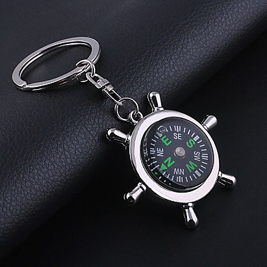 cheap Gifts & Decorations-Wedding Keychain Favor  Pack of 1Piece  Non-personalised with Compass