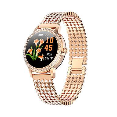 billige Smartklokker-lw20 smartwatch for kvinner for android / ios / samsung-telefoner, bluetooth fitness tracker støtte hjertefrekvens / blod oksygenmåling
