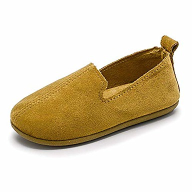 iDuoDuo Boys Girls Classic Low Top Elastic Slip on Loafers Flat Walking Canvas Shoes Toddler//Little Kid