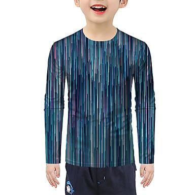 cheap Baby & Kids-Kids Boys' Active 3D Long Sleeve Tee Green
