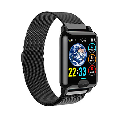 cheap Men's Watches-E04S Men's Smartwatch Bluetooth Heart Rate Monitor Blood Pressure Measurement Calories Burned Thermometer Health Care ECG+PPG Stopwatch Pedometer Call Reminder Sleep Tracker