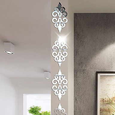 cheap Home Decor-Abstract / Shapes Wall Stickers Mirror Wall Stickers Decorative Wall Stickers, Acrylic Home Decoration Wall Decal Wall Decoration 10pcs