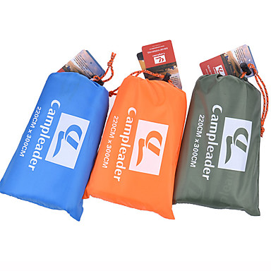 cheap Sleeping Bags & Camp Bedding-Picnic Blanket Outdoor Camping Rain Waterproof Anti-Slip Wearable Oxford Cloth 200*300 cm for 2 - 3 person Climbing Camping / Hiking / Caving Traveling Spring Summer Army Green Blue Orange