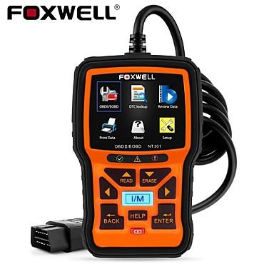 billiga Verktyg och redskap-foxwell nt301 obd2 skanner professionell eobd obdii kodläsare motor check odb2 obd 2 fordonsskanner bil diagnostiskt verktyg