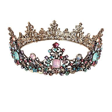 povoljno Party pokrivala za glavu-Kristal / Legura tijare s Crystal / Rhinestone 1 komad Vjenčanje / Special Occasion Glava