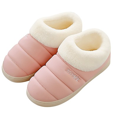 cheap Slippers-Women's Slippers House Slippers Casual Synthetic Shoes