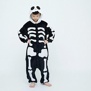 cheap Kids' Fashion-Kids Girls' Active Solid Colored Sleepwear Black