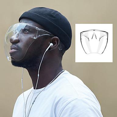 economico Protezione personale-maschera protettiva trasparente maschera protettiva ad alta permeabilità che imita la maschera di isolamento delle goccioline