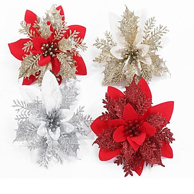 cheap Gifts & Decorations-Christmas Tree Decoration Plastics 1 Piece Christmas