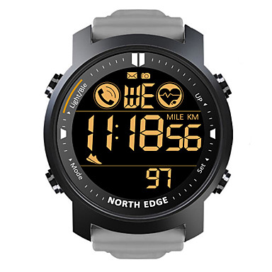cheap Men's Watches-NORTH EDGE LAKER Men's Smartwatch Bluetooth Waterproof Heart Rate Monitor Calories Burned Camera Information Stopwatch Pedometer Call Reminder Alarm Clock Community Share