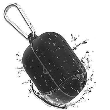 رخيصةأون حالات AirPods-جراب شحن لاسلكي لأجهزة airpods pro مع جراب مقاوم للماء من السيليكون للحماية من الخدش