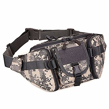 cheap Running Bags-tactical waist pack, army military fanny pack, outdoor hiking hunting fishing running camping travel hip belt bag jd