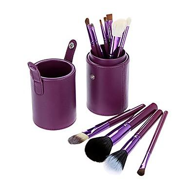 cheap Makeup Brush Sets-makeup brushes set 12pcs foundation eyeliner eyebrow lip brush tools cosmetics kits with holder
