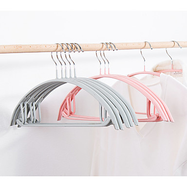 cheap Storage & Organization-Dip Semicircle Wet And Dry Multi-color Clothes Hanger