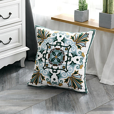 cheap Decorative Pillows-The New Fashion Simple Original Creation Design Single Side Embroidered Pillow Case Cover Living Room Bedroom Sofa Cushion Cover