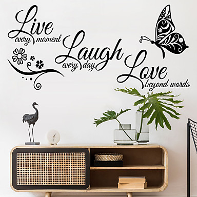 for Easter Day Wall Stickers Every family Has a Stoiy Removable Art Vinyl Mural Home Room Decor Wall Stickers Home Decor Big Sales Black