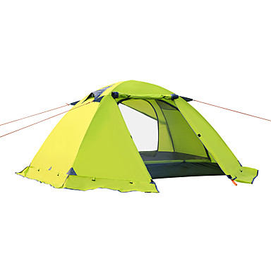Windproof Hiking Backpacking Tent Waterproof Canopy Camping Tent Shelter