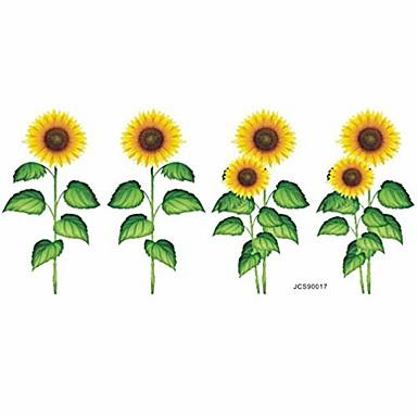 Słonecznik naklejka ścienna naklejki ścienne dla dzieci fototapeta skórki i  kij tapeta tło dla dzieci przedszkole sypialnia dekoracje do salonu 8773327  2021 – $8.39