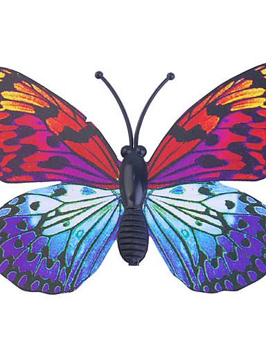 preiswerte FORBABYKIDS-Glow-in-Dunkel-Schmetterling 6pcs Home 3D Schmetterling Wandaufkleber mit Stift&Magnet Vorhänge Kühlschrank Dekoration