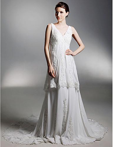 7307a35bf ALIA - Vestido de Novia de Gasa 144590 2019 –  299.99