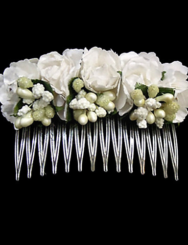 preiswerte StepsinWinter-Edelstahl Papier Haarkämme 1 Hochzeit Besondere Anlässe Normal Kopfschmuck