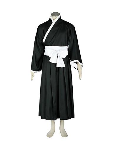 povoljno Anime cosplay-Inspirirana Cosplay Cosplay Anime Cosplay nošnje Japanski Cosplay Suits / Kimono Kolaž Dugih rukava Pojas / Kimono Dlaka / Hakama hlače Za Muškarci / Žene