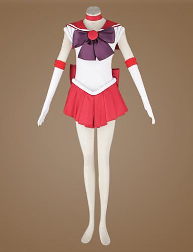 povoljno Maske i kostimi-Inspirirana Sailor Moon Sailor Mars Anime Cosplay nošnje Japanski Cosplay Suits Kolaž Top Za Muškarci / Žene