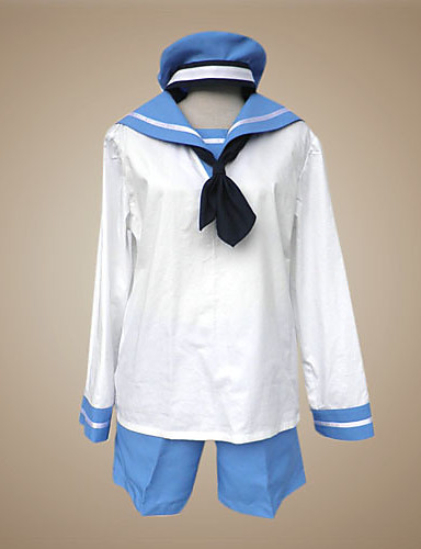 povoljno Maske i kostimi-Inspirirana Hetalia Sealand Anime Cosplay nošnje Japanski Cosplay Suits / School Uniforms Kolaž Dugih rukava Kravata / Top / Hlače Za Muškarci