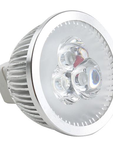 preiswerte Dekorative Beleuchtung-6500lm GU5.3(MR16) LED Spot Lampen MR16 3 LED-Perlen Hochleistungs - LED Abblendbar Natürliches Weiß 12V / #